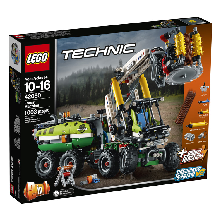 Technic 42080 Forest Machine