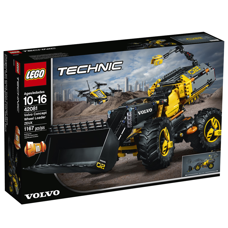 Technic 42081 Volvo Concept Wheel Loader ZEUX