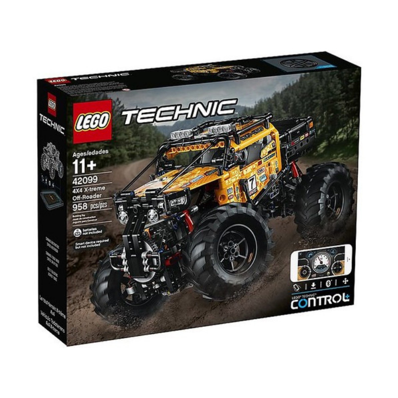 Technic 42099 4X4 X treme Off Roader
