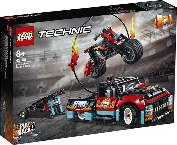 Technic 42106 Stunt Show Truck & Bike