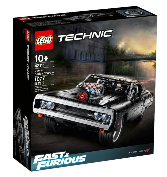 Technic 42111 Fast and Furious Doms Dodge Charger