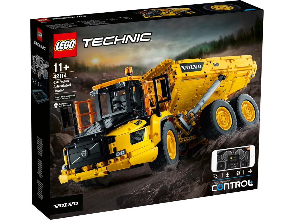 Technic 42114 6x6 Volvo Articulated Hauler
