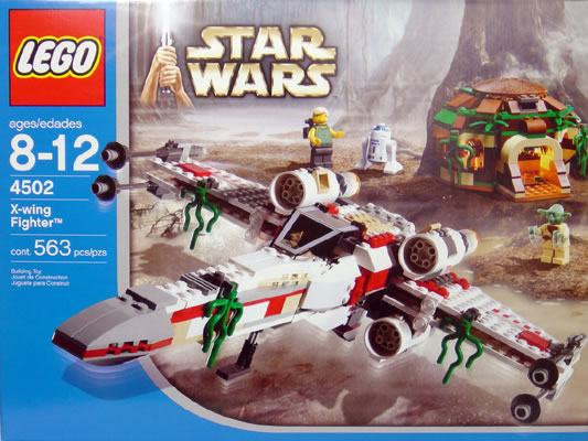 LEGO STAR WARS X WING Fighter 4502