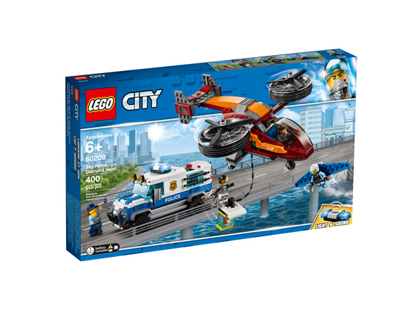 CITY 60209 Sky Police Diamond Heist
