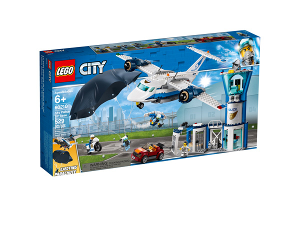 CITY 60210 Sky Police Air Base