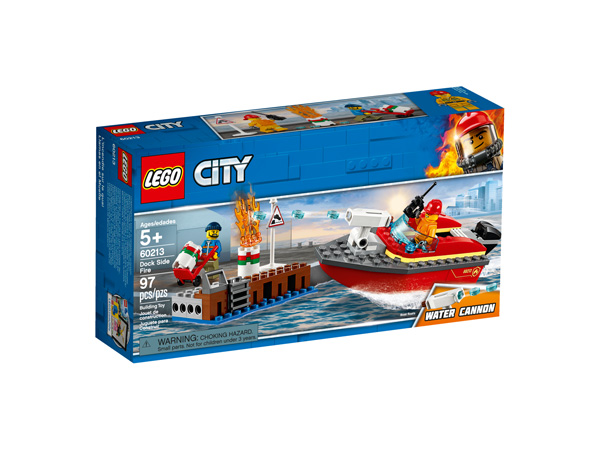 CITY 60213 Dock Side Fire