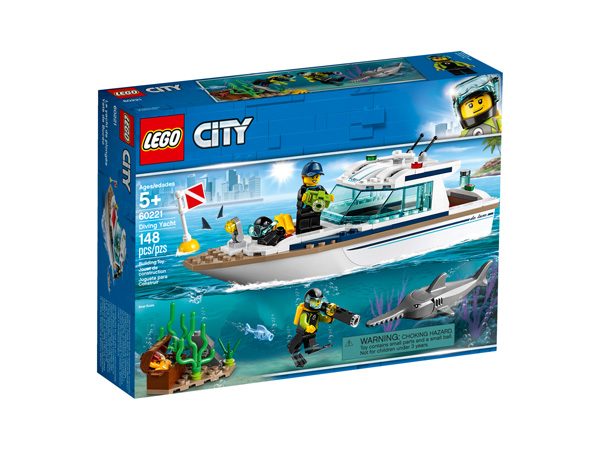 CITY 60221 Diving Yacht