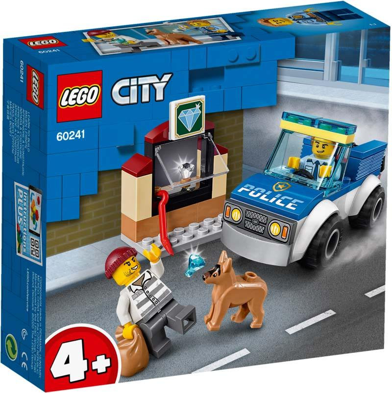 LEGO® CITY 60241 Police Dog Unit
