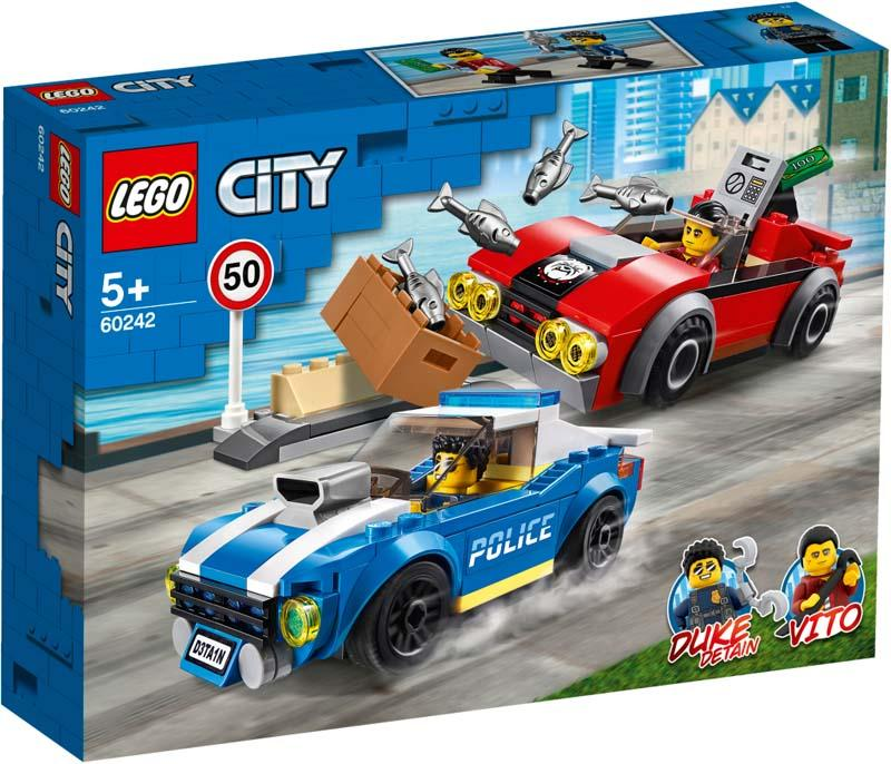 LEGO® CITY 60242 Police Highway Arrest