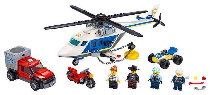LEGO® CITY 60243 Police Helicopter Chase