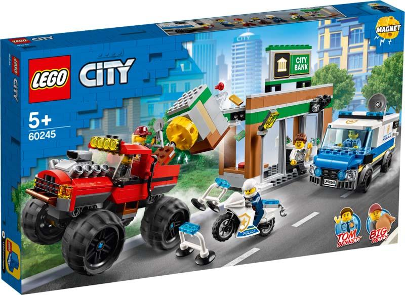 LEGO® CITY 60245 Police Monster Truck Heist