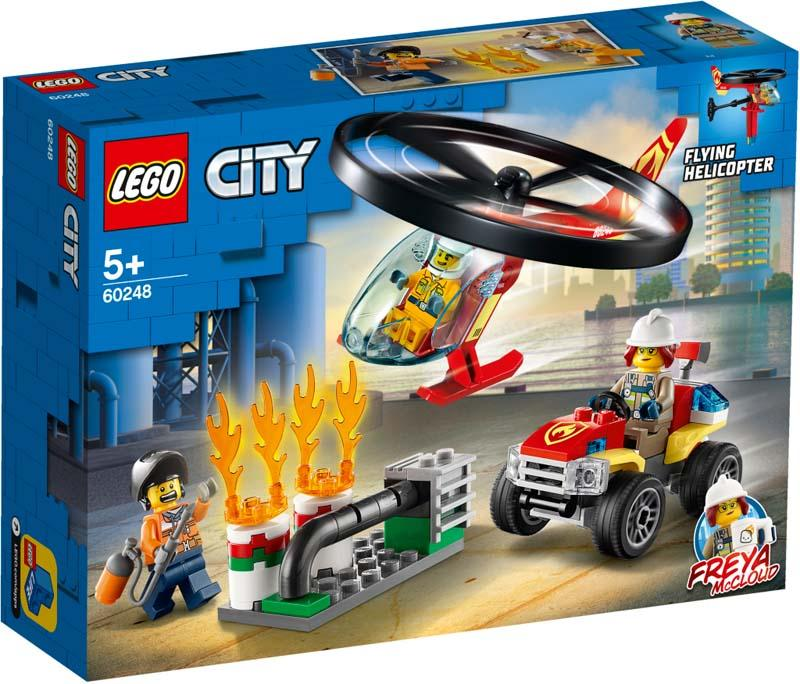LEGO® CITY 60248 Fire Helicopter Response