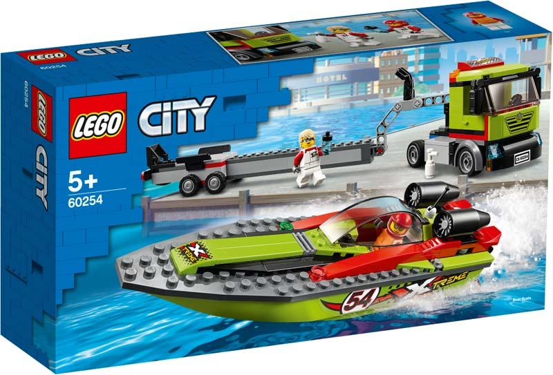 LEGO® CITY 60254 Race Boat Transporter