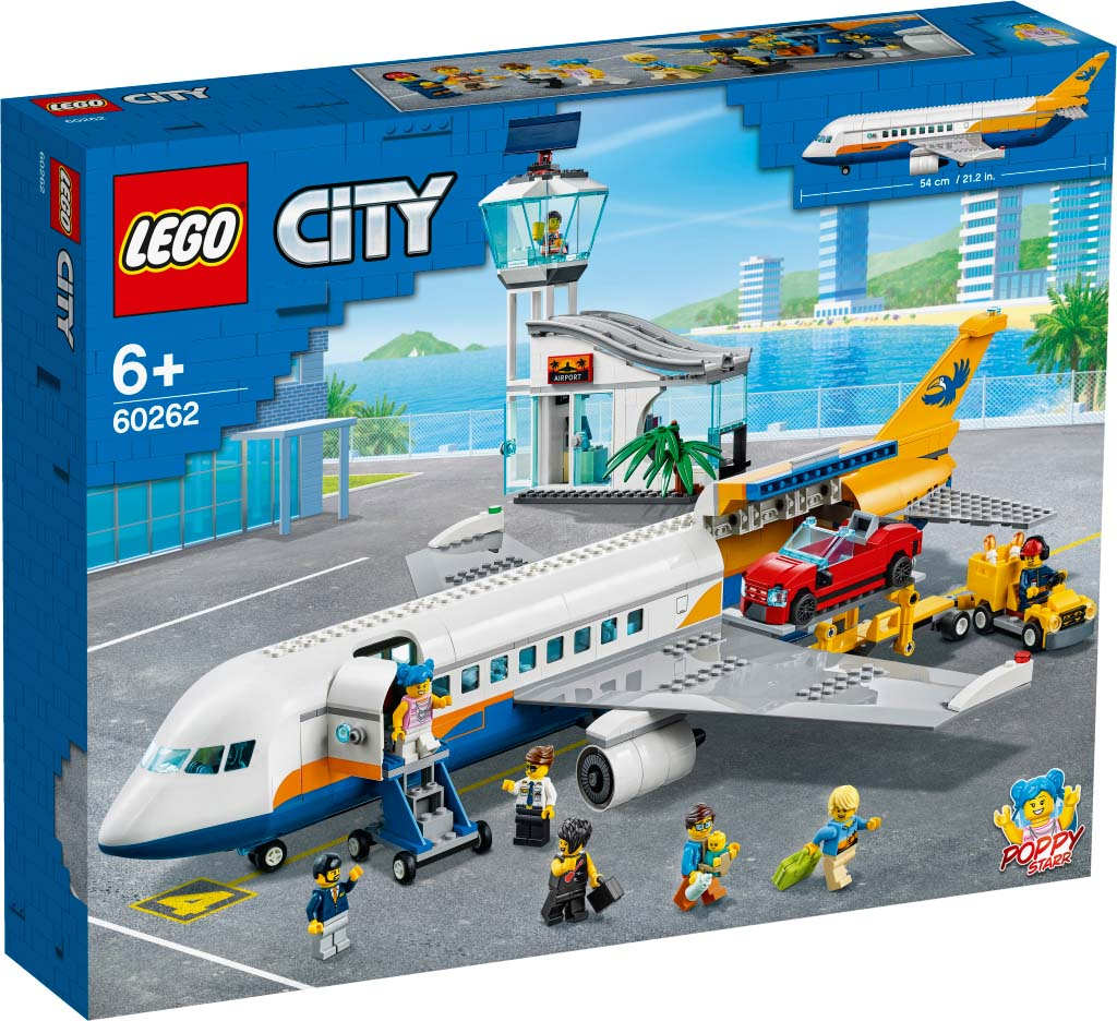 LEGO® CITY 60262 Passenger Airplane