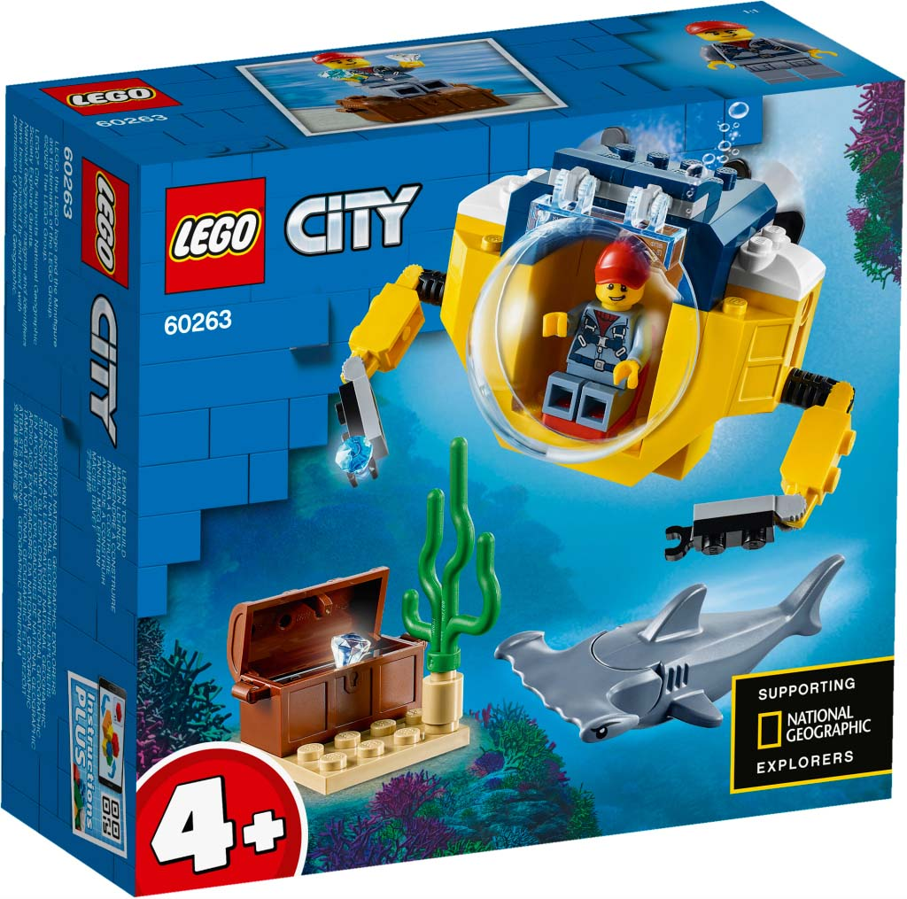 LEGO® CITY 60263 Ocean Mini-Submarine