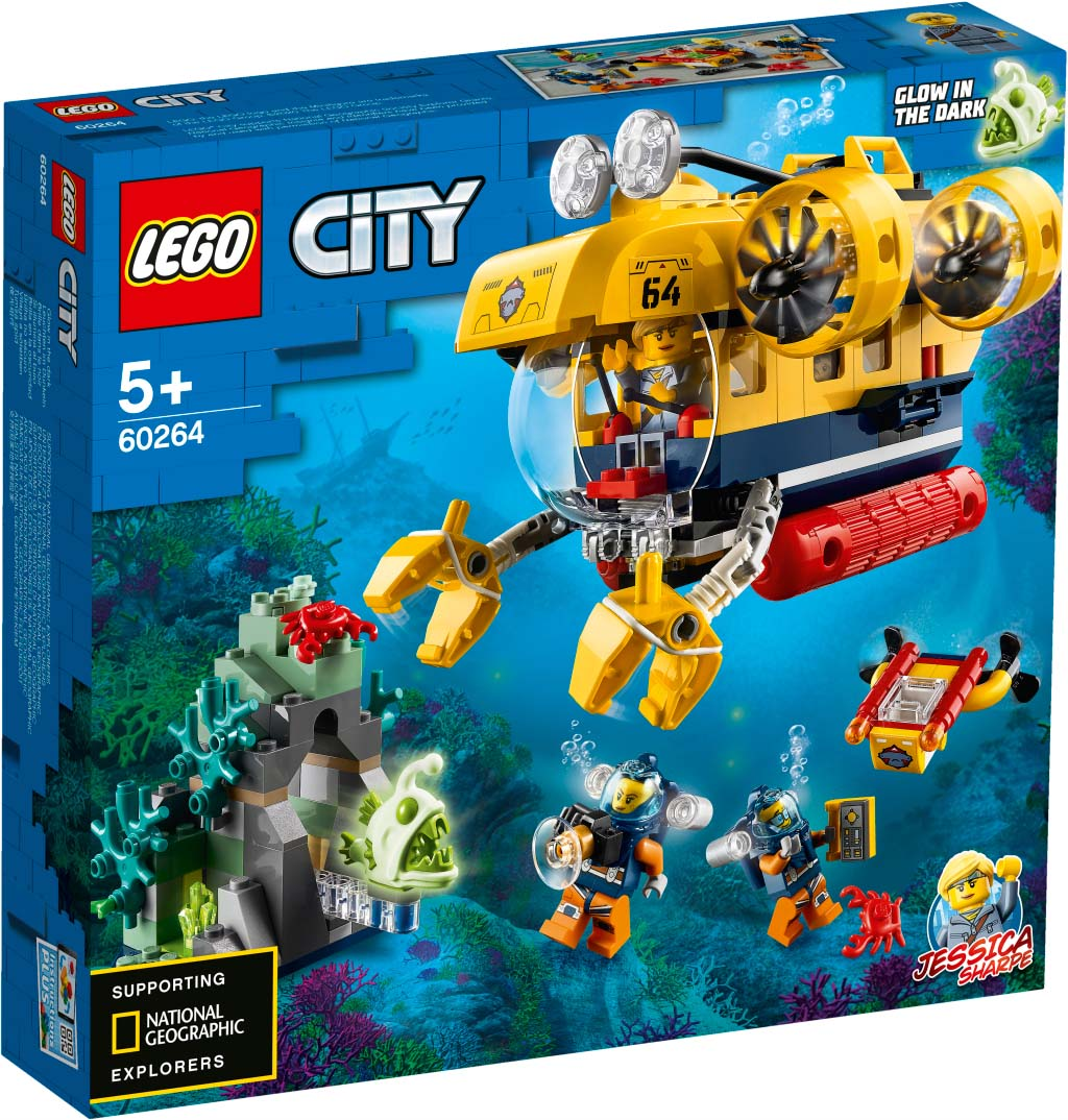 LEGO® CITY 60264 Ocean Exploration Submarine