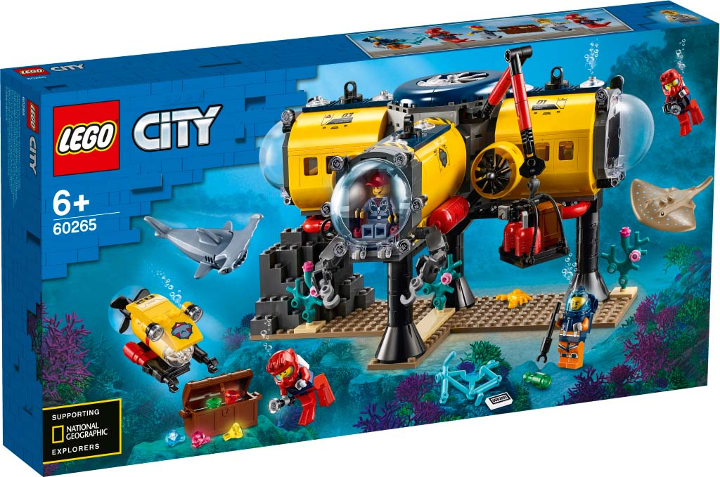 LEGO® CITY 60265 Ocean Exploration Base