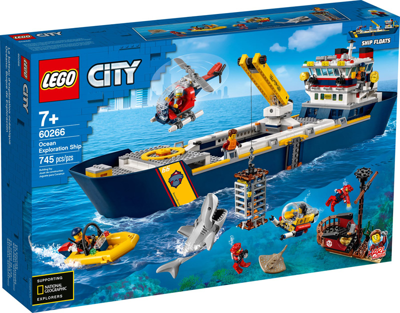 LEGO® CITY 60266 Ocean Exploration Ship