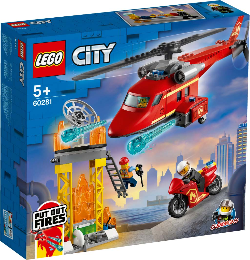 LEGO® CITY 60281 Fire Rescue Helicopter