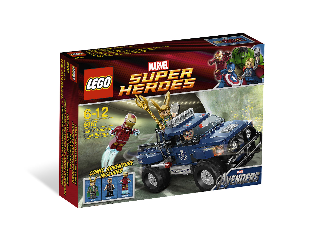LEGO ® Super Heroes Lokis Cosmic Cube Escape 6867