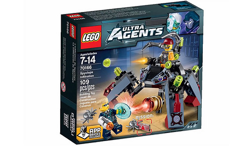 Ultra Agents 70166 Spyclops Infiltration