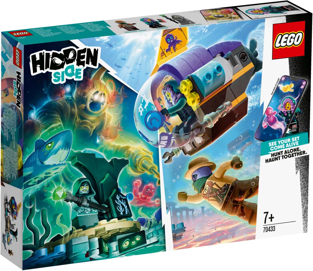 LEGO® Hidden Side 70433 JBs Submarine