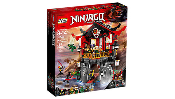 NINJAGO 70643 Temple of Resurrection