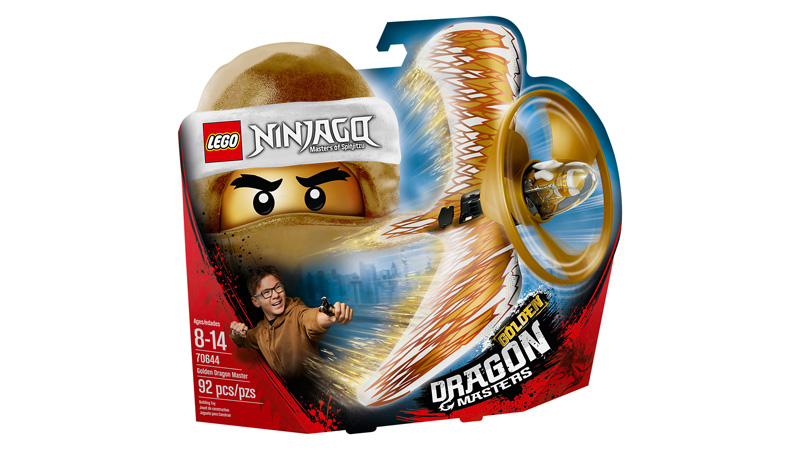 NINJAGO® 70644 Golden Dragon Master