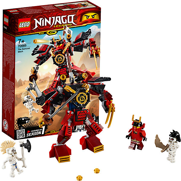 NINJAGO 70665 The Samurai Mech of Awesome