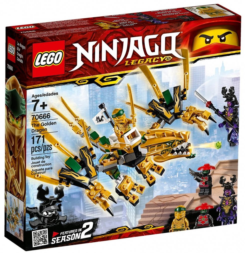 NINJAGO 70666 The Golden Dragon