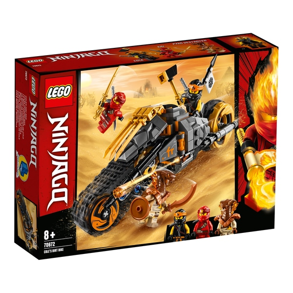 NINJAGO 70672 Coles Dirt Bike