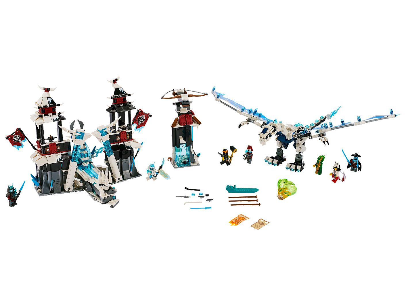 NINJAGO 70678 Castle of the Forsaken Emperor
