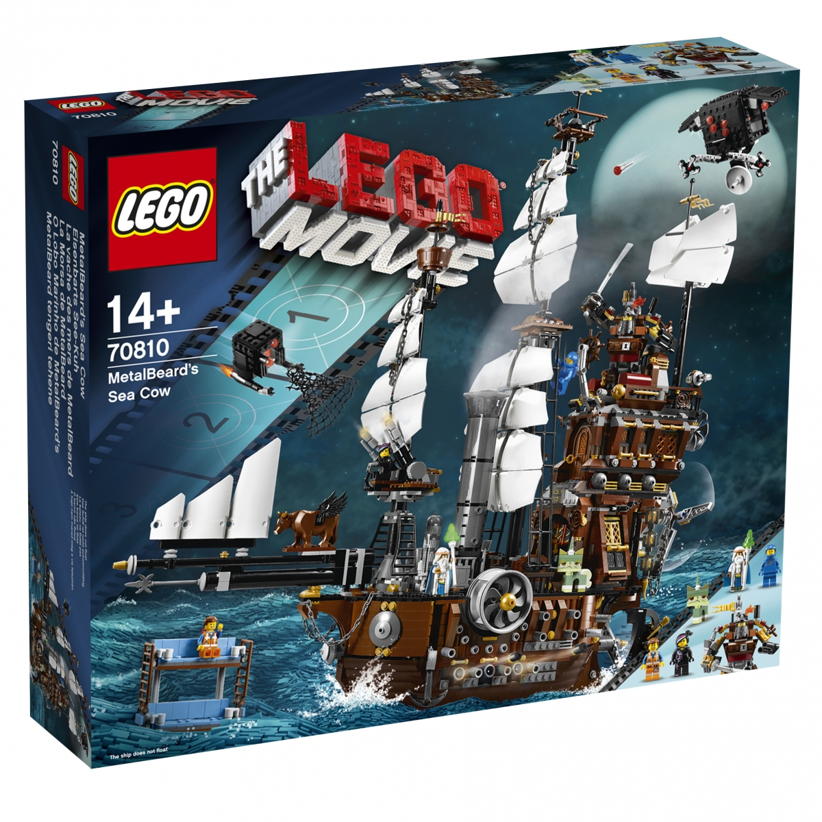 The LEGO Movie 70810 MetalBeard's Sea Cow