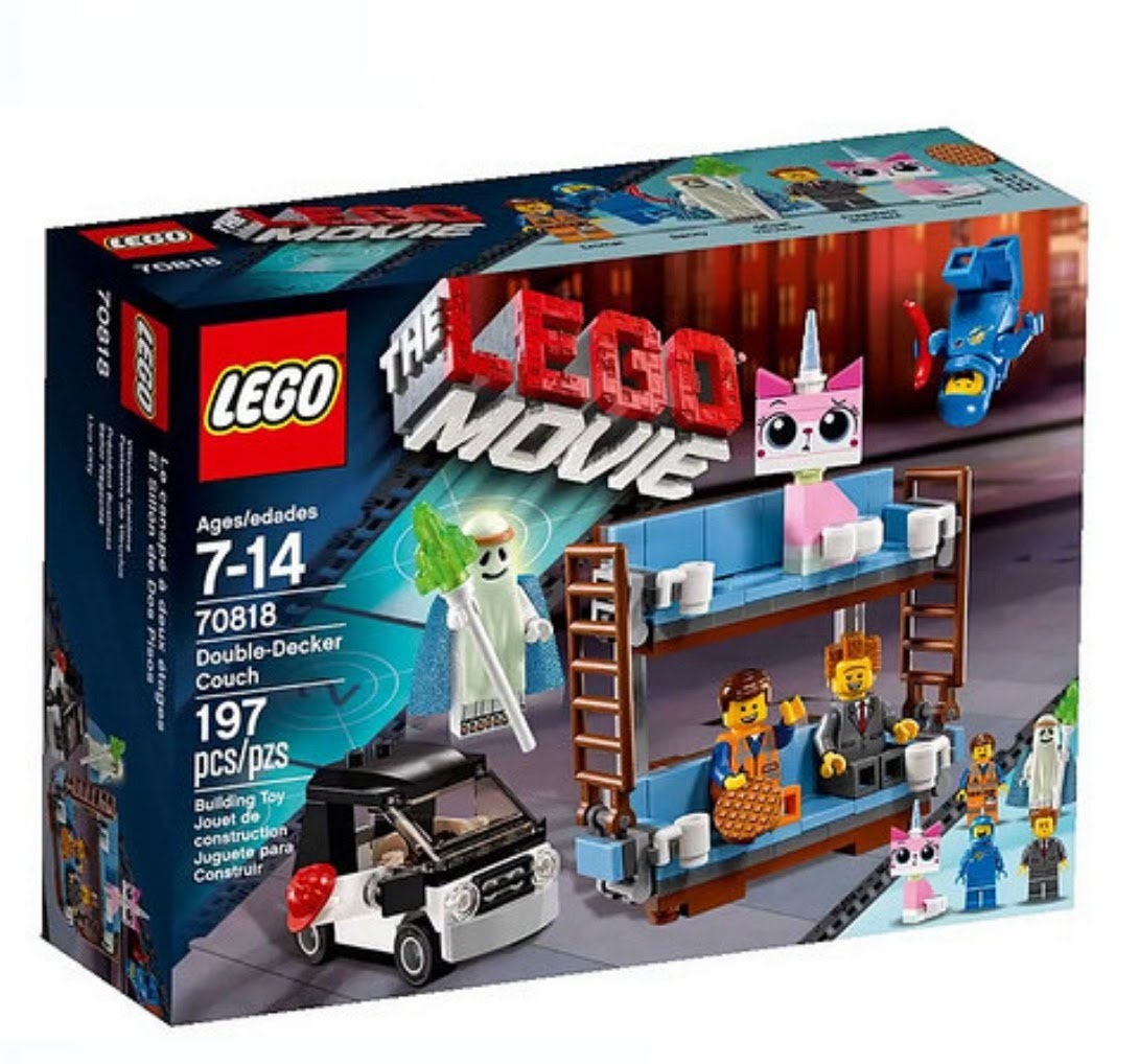 The LEGO Movie 70818 Double Decker Couch