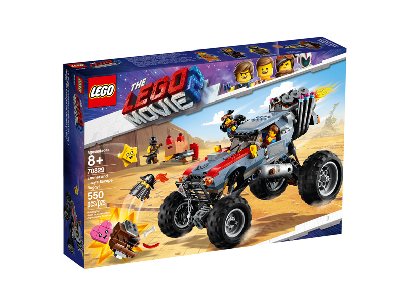 LEGO® Movie 2 70829 Emmet and Lucys Escape Buggy