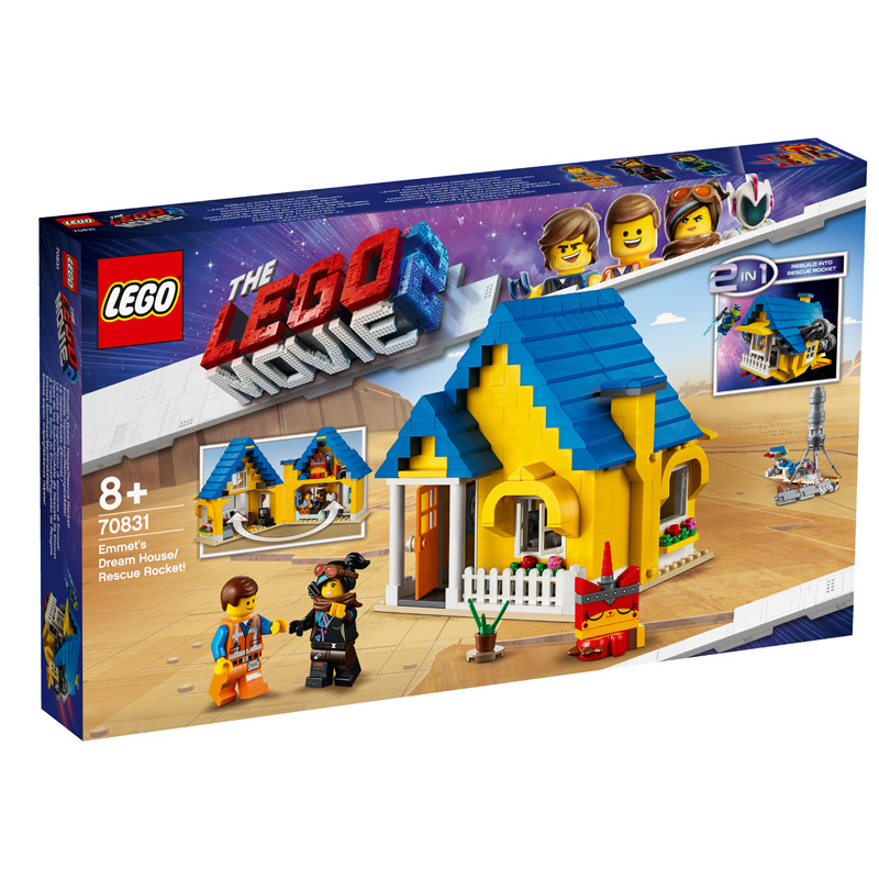 LEGO® Movie 2 70831 Emmets Dream House Rescue Rocket