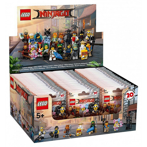 LEGO 71019 NINAJGO MOVIE Minifigures Complete Box