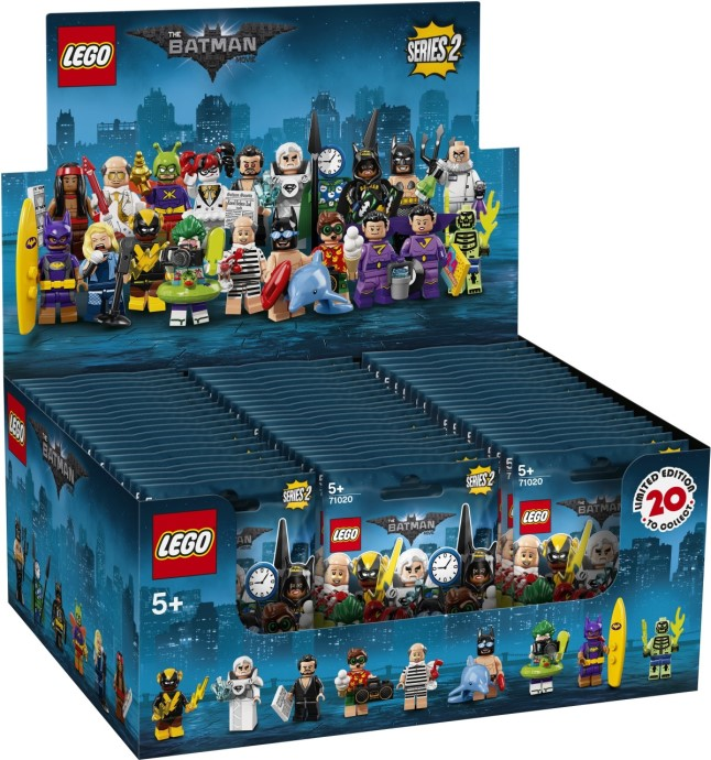 LEGO 71020 Batman Series 2 Minifigures Complete Box