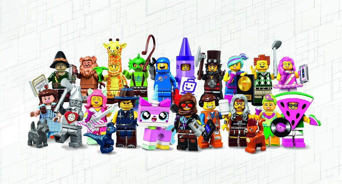 LEGO Minifigures 71023 THE LEGO® MOVIE 2 Set of 20