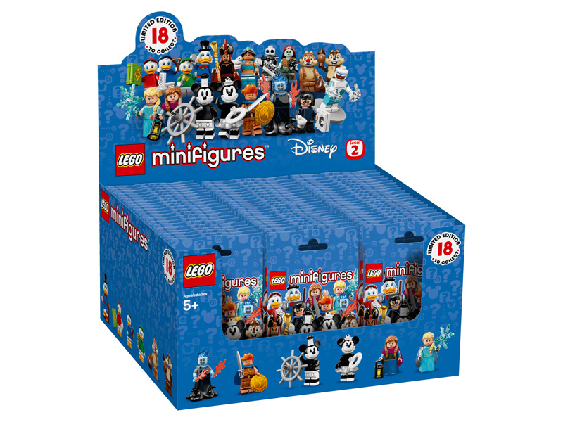 LEGO Minifigures 71024 Disney Series 2 Complete Box of 60