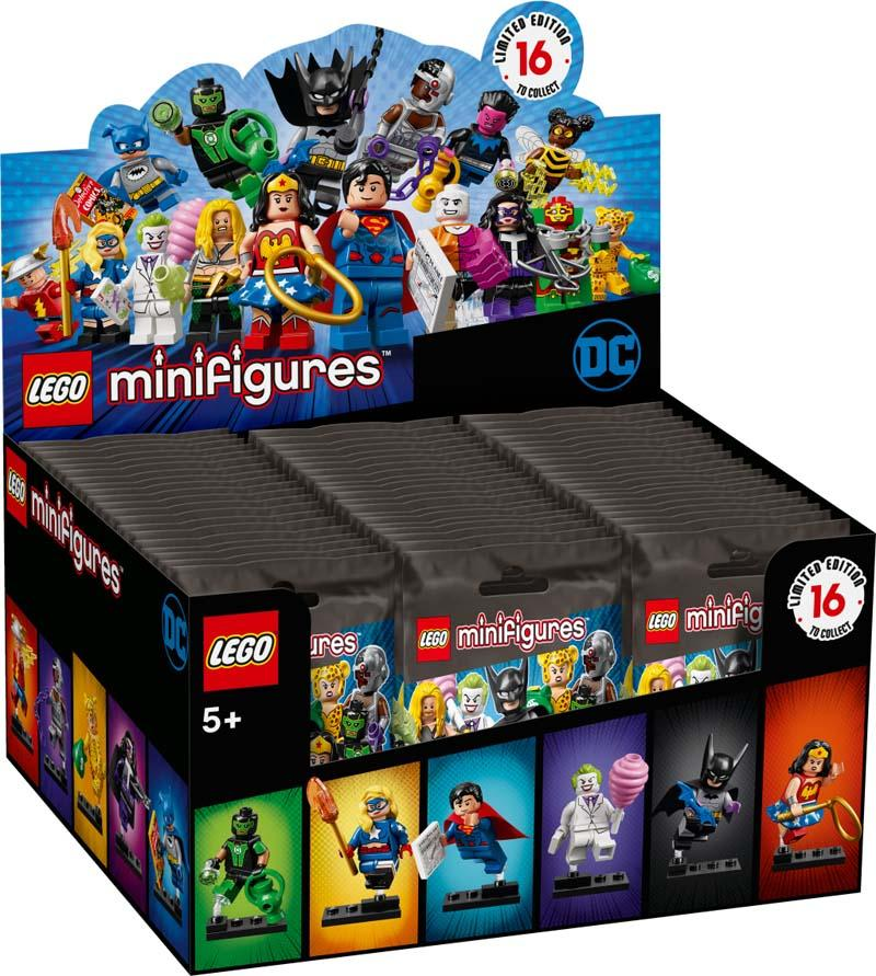 LEGO® Minifigures 71026 DC Super Heroes Series Complete Box