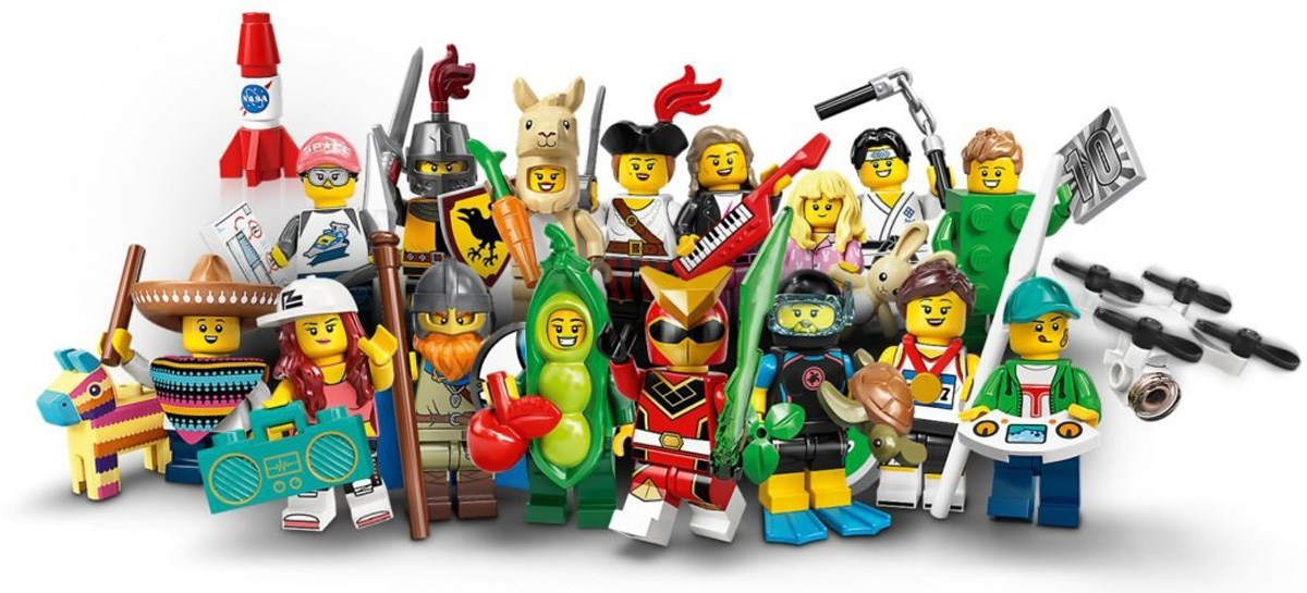 LEGO® 71027 Complete Set of 16