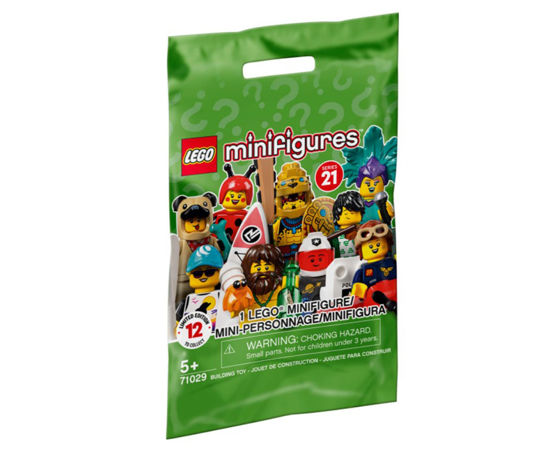 LEGO® Minifigures 71029 Series 21 Complete Box
