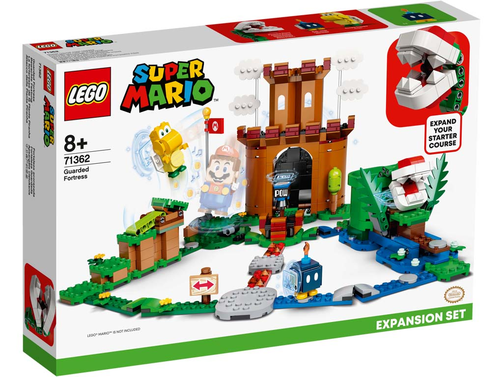 Super Mario 71362 Guarded Fortress Expansion Set