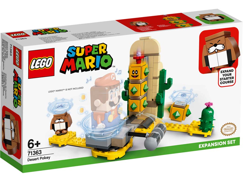 Super Mario 71363 Desert Pokey Expansion Set