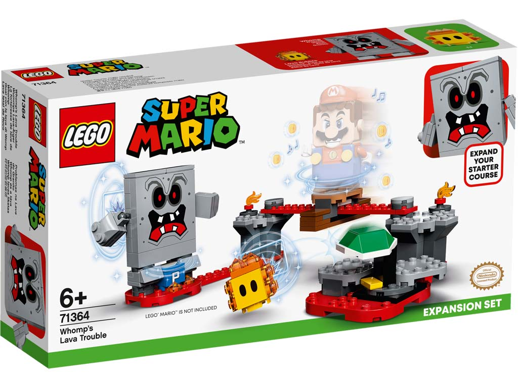 Super Mario 71364 Whomps Lava Trouble Expansion Set