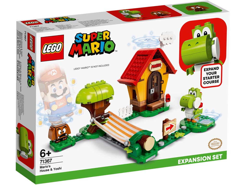 Super Mario 71367 Marios House and Yoshi Expansion Set