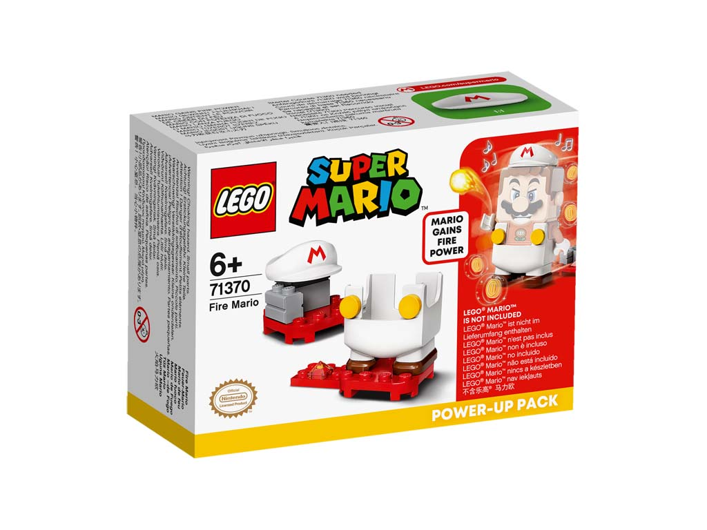 Super Mario 71370 Fire Mario Power Up Pack