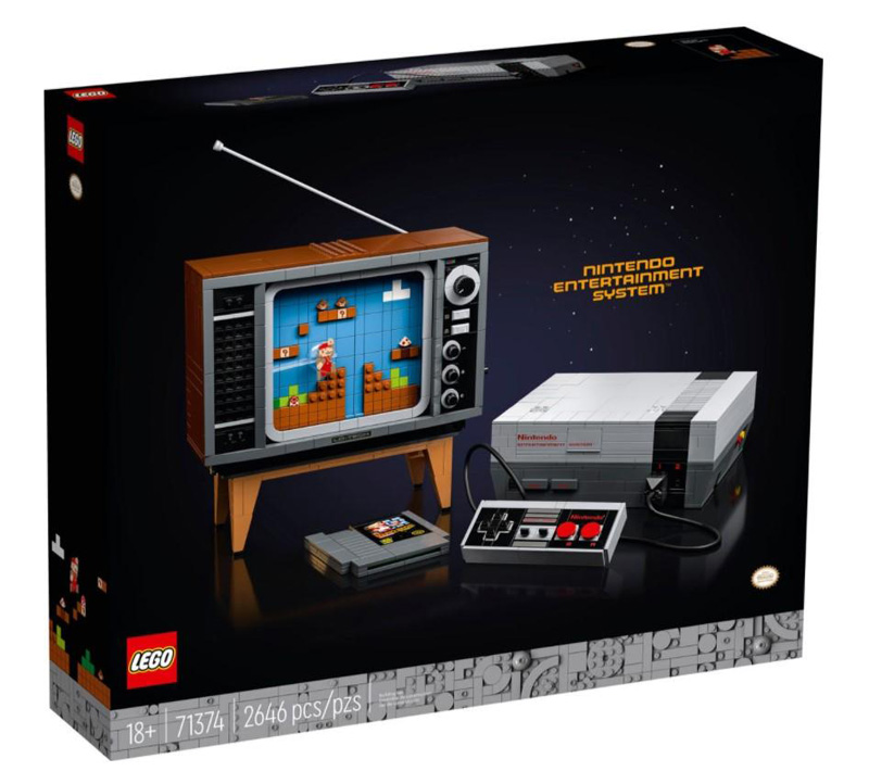 LEGO® 71374 Nintendo Entertainment System