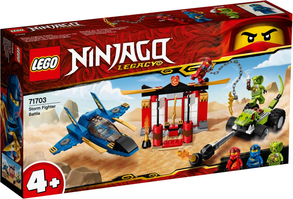 NINJAGO 71703 Storm Fighter Battle